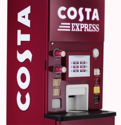 Costa Coffee To Go available from Siopa Mhicí Foodstore, Gaoth Dobhair, County Donegal, Ireland